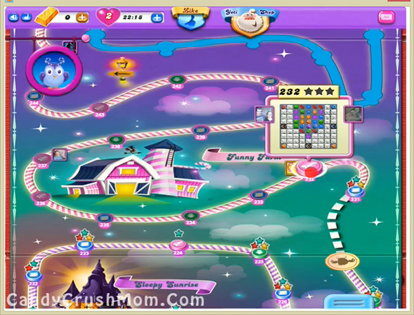 Candy Crush Dreamworld Level 232