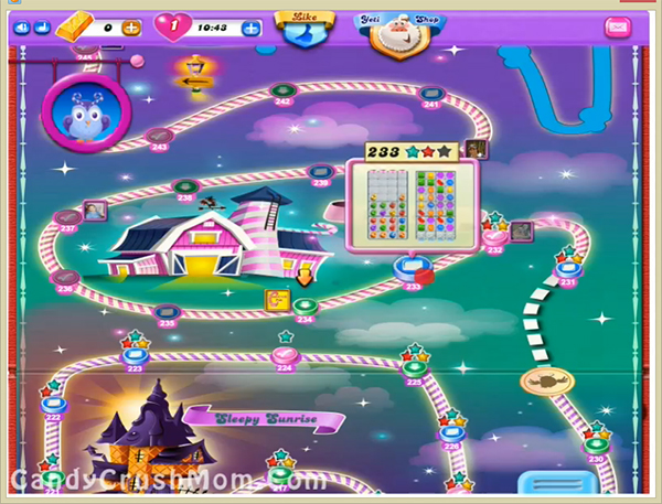 Candy Crush Dreamworld Level 233