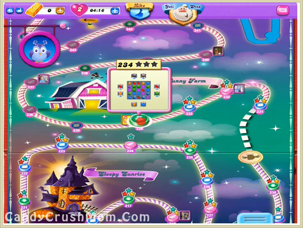 Candy Crush Dreamworld Level 234