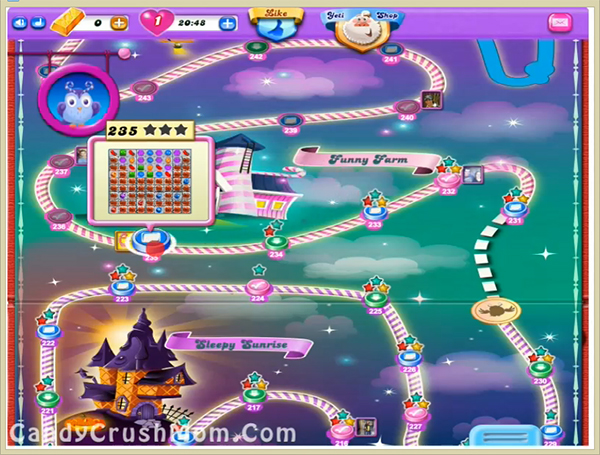 Candy Crush Dreamworld Level 235