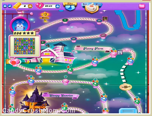 Candy Crush Dreamworld Level 236