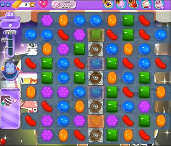Candy Crush Dreamworld Level 237