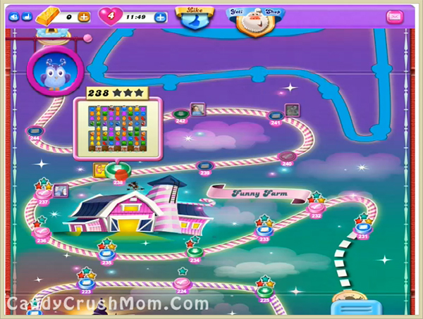Candy Crush Dreamworld Level 238