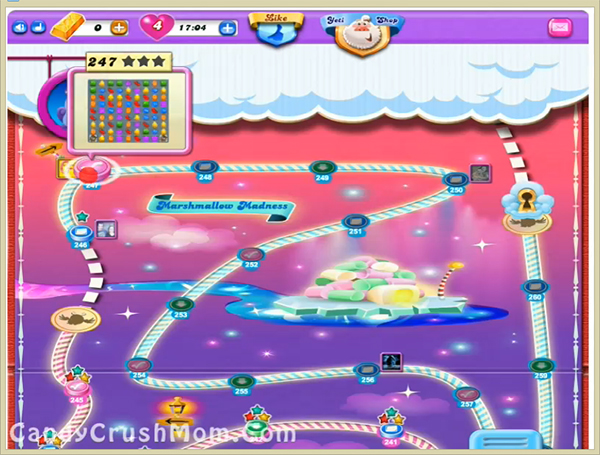 Candy Crush Dreamworld Level-247