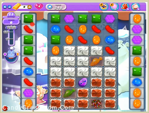 Candy Crush Dreamworld Level 248