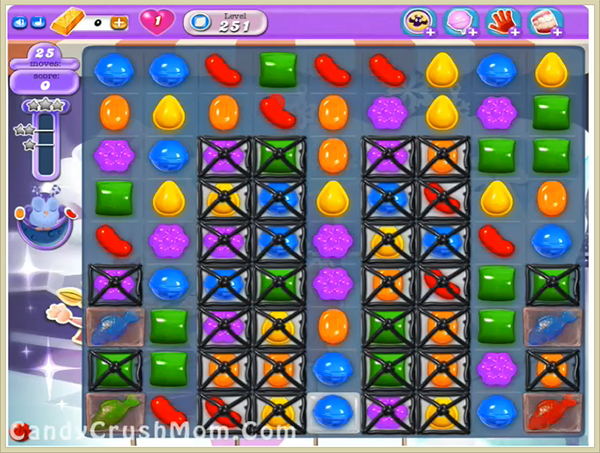 Candy Crush Dreamworld Level 251