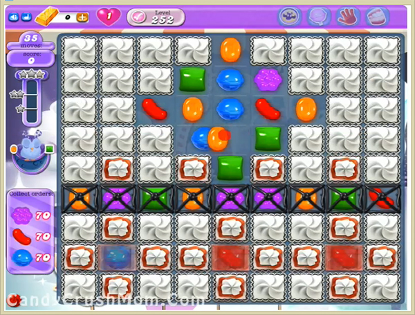 Candy Crush Dreamworld Level 252