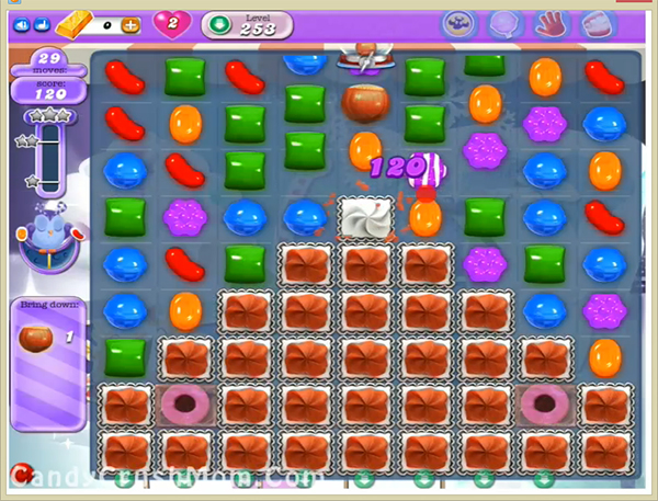 Candy Crush Dreamworld Level 253
