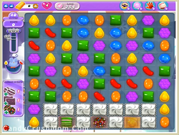 Candy Crush Dreamworld Level 254