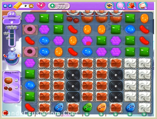Candy Crush Dreamworld Level 255