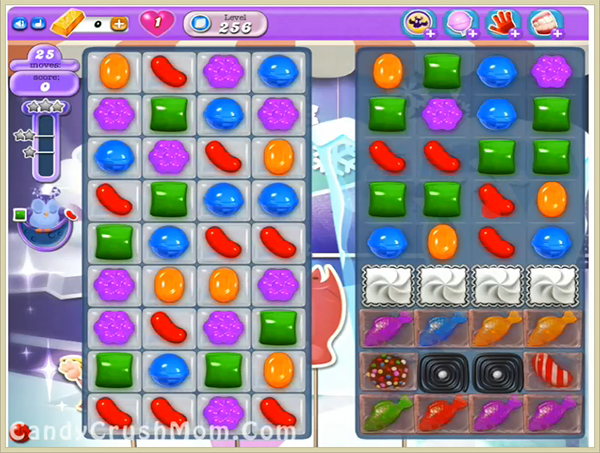 Candy Crush Dreamworld Level 256