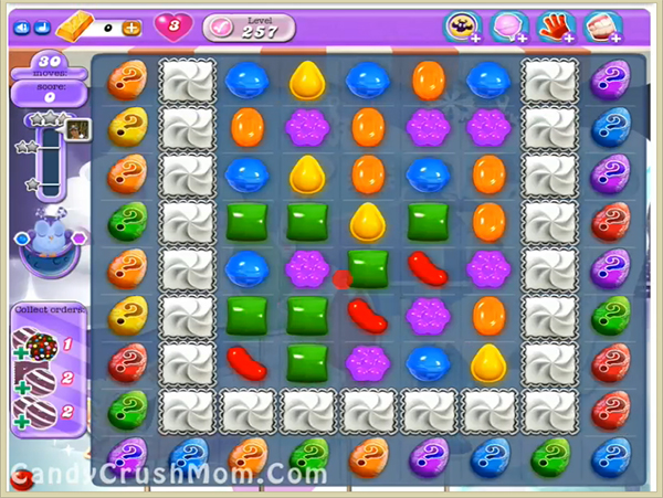 Candy Crush Dreamworld Level-257