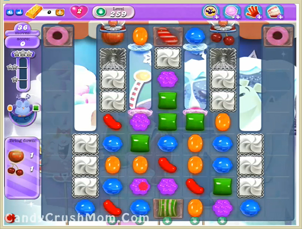 Candy Crush Dreamworld Level 259