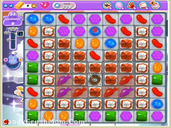 Candy Crush Dreamworld Level 260