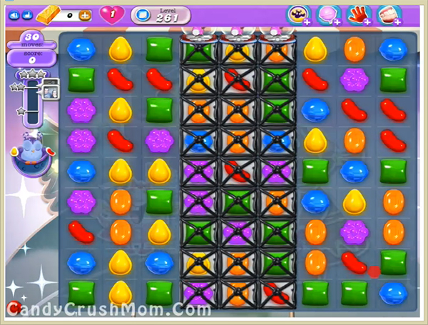 Candy Crush Dreamworld Level 261