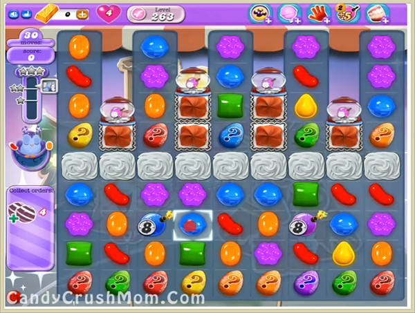 Candy Crush Dreamworld Level-263
