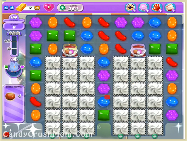 Candy Crush Dreamworld Level 264