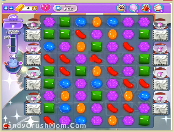 Candy Crush Dreamworld Level 265
