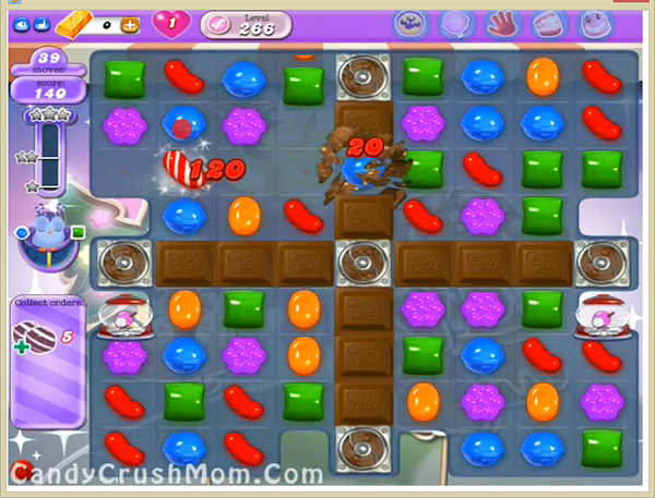 Candy Crush Dreamworld Level 266