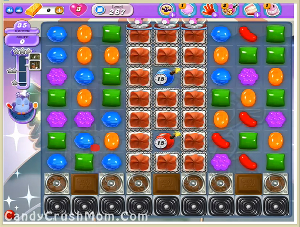 Candy Crush Dreamworld Level 267