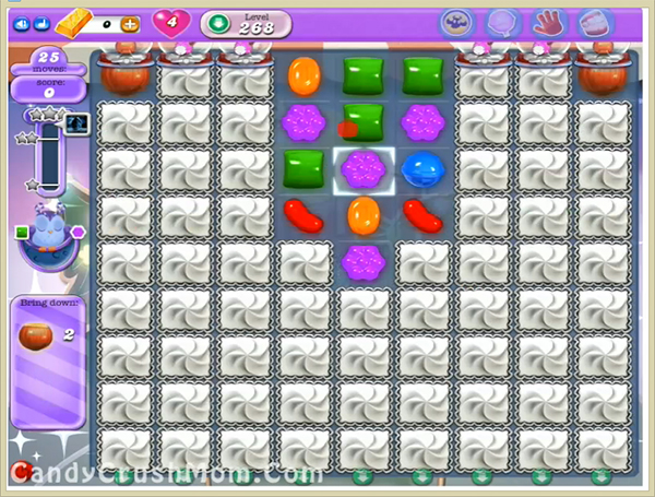 Candy Crush Dreamworld Level-268