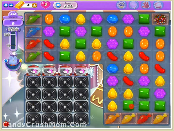 Candy Crush Dreamworld Level 269