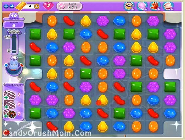 Candy Crush Dreamworld Level 271