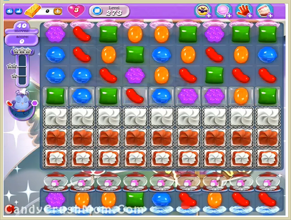 Candy Crush Dreamworld Level 273