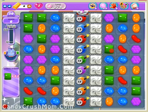 Candy Crush Dreamworld Level 274