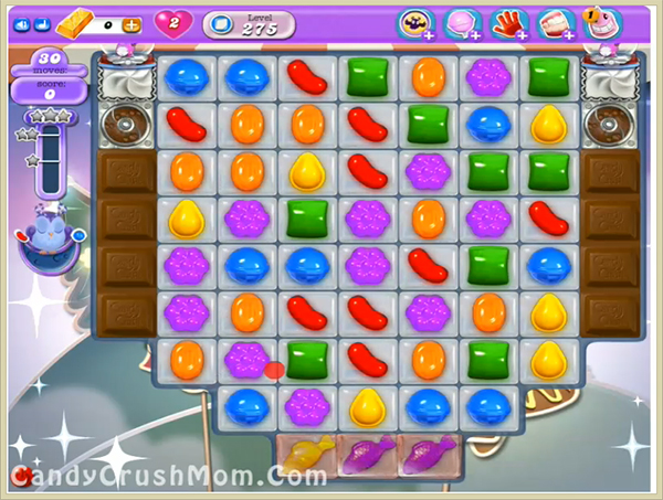 Candy Crush Dreamworld Level 275