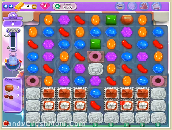 Candy Crush Dreamworld Level 278