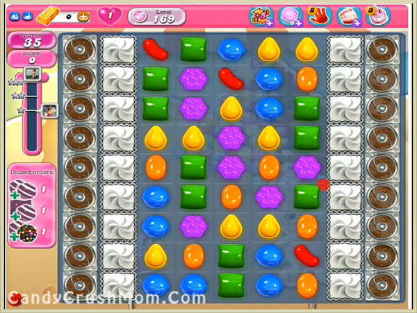 Candy Crush Level 169
