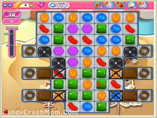 Candy Crush Level 170