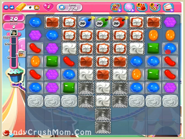 Candy Crush Level 174