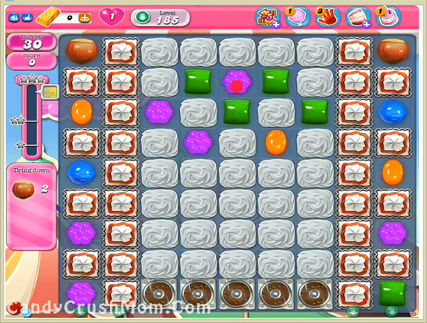 Candy Crush Level 185