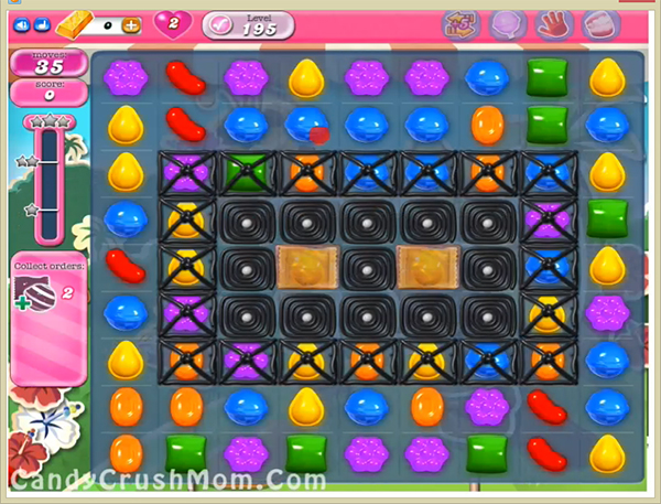 Candy Crush Level 195