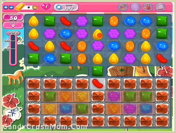 Candy Crush Level 197