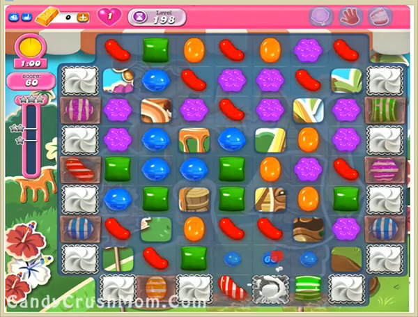 Candy Crush Level 198