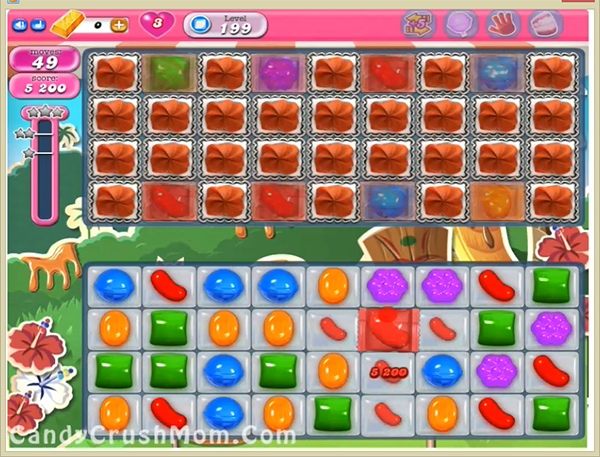 Candy Crush Level 199