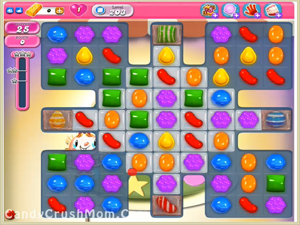 Candy Crush Level 203