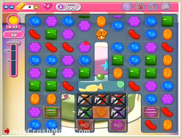 Candy Crush Level 204