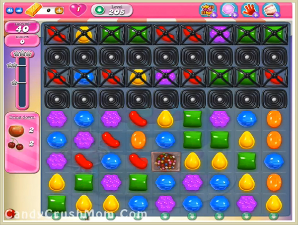 Candy Crush Level 205