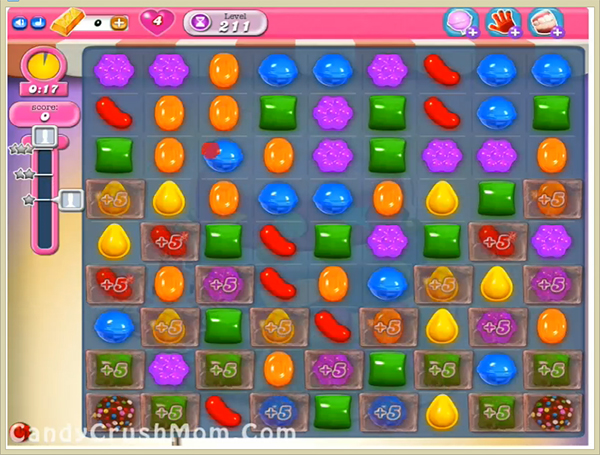 Candy Crush Level 211