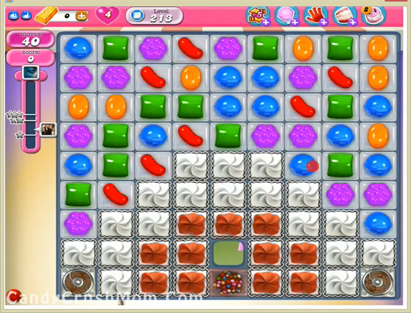 Candy Crush Level 213