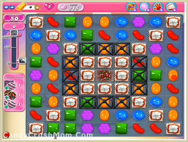 Candy Crush Level 215