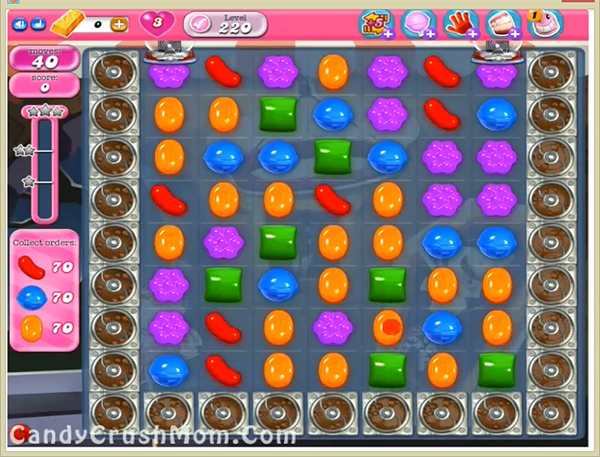Candy Crush Level 220