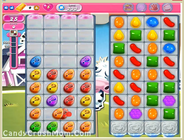 Candy Crush Level 233