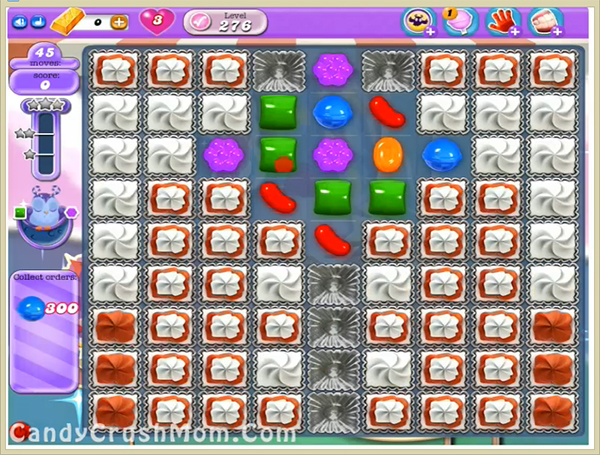 Candy Crush Dreamworld Level 276