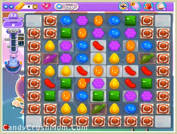 Candy Crush Dreamworld Level 280