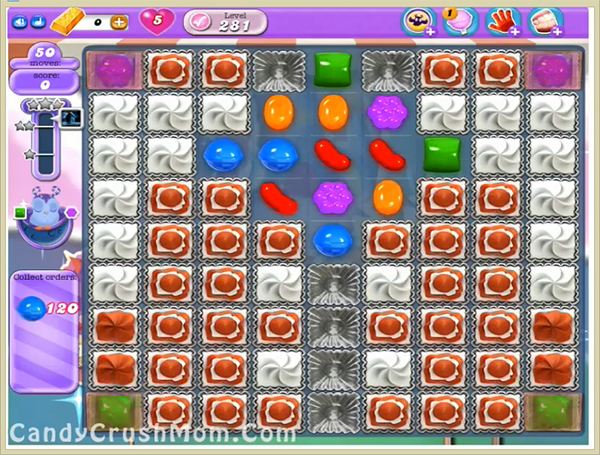 Candy Crush Dreamworld Level 281